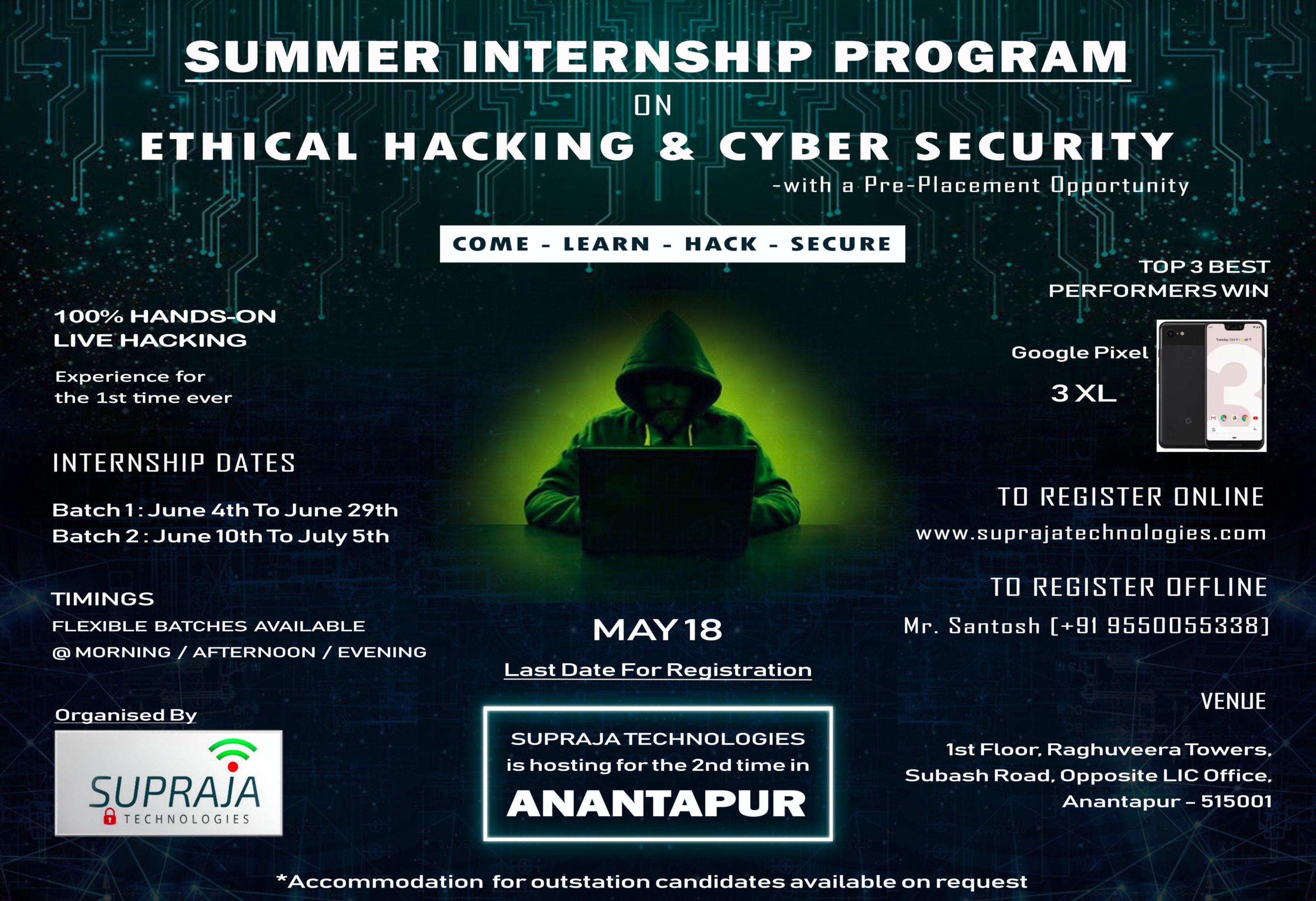 anantapur internship 2019